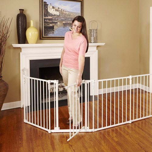 North States Superyard 3 In 1 Metal Pet Gate Product Features