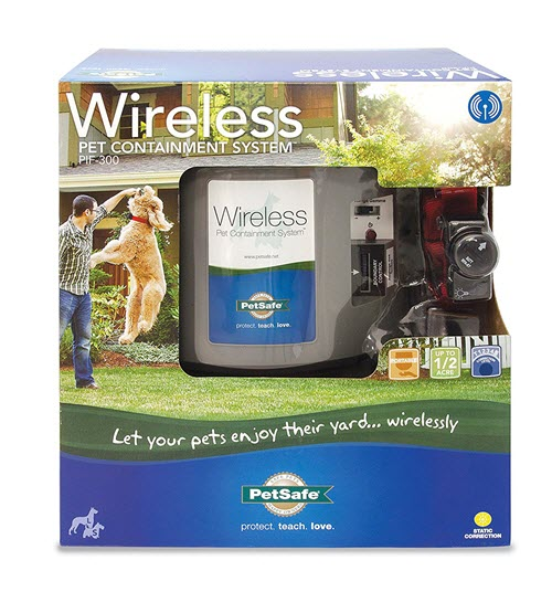 PetSafe PIF-300 Wireless Pet Containment System Product pros