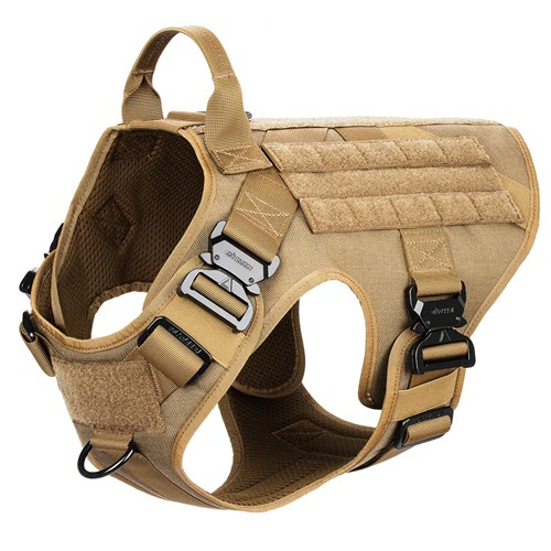 ICEFANG Tactical Dog Harness - K9 Working Dog Vest Review
